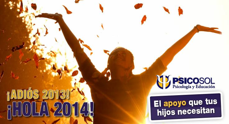 Un año más empieza. ¡Hola 2014! ¿Qué nos deparará? | Psicosol