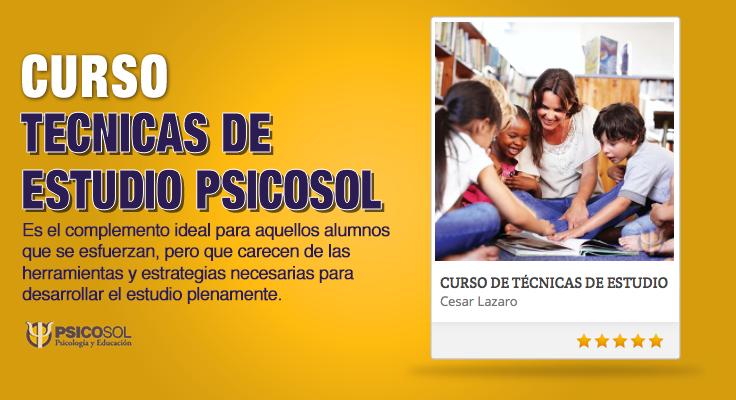 TECNICAS DE ESTUDIO Psicosol
