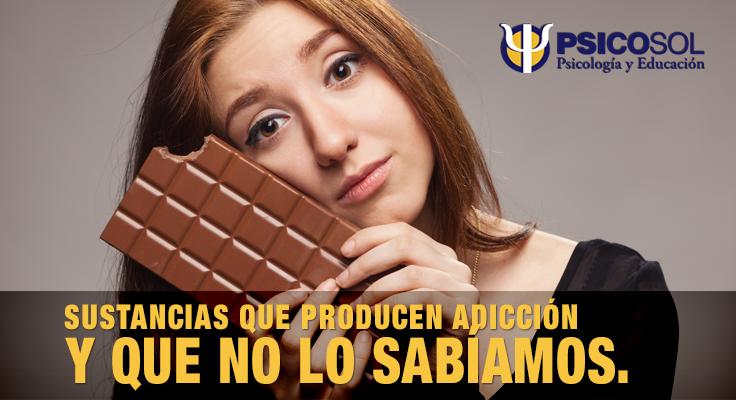 Sustancias que producen adicción, y que no lo sabíamos.