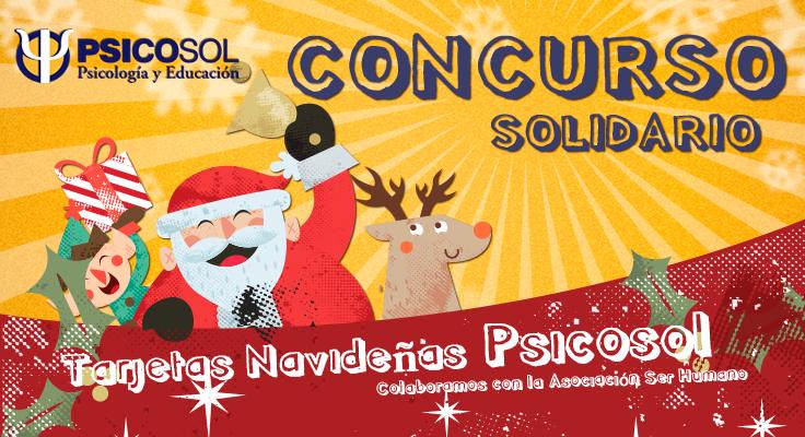 Concurso tarjetas navideñas Psicosol 2014