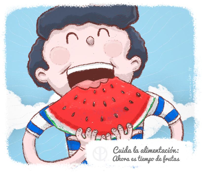 1.Cuida la alimentación: ahora es tiempo de frutas
